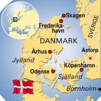 Danmarks karta