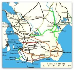 Skånes järnvägar