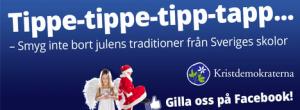 Kristdemokraterna firar jul