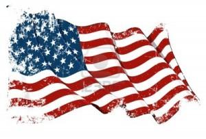 USA:s skamfilade flagga