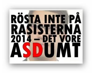 Rösta inte på SD