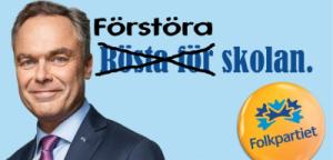 Förstöra skolan med Jan Björklund