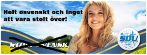 Falsk svensk stolthet