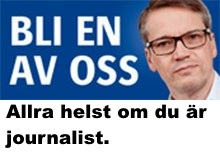 Steget från opartisk reporter till Kd-politiker