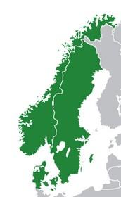 De Skandinaviska länderna