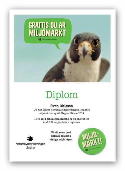 Sven Ohlsson miljömärkt