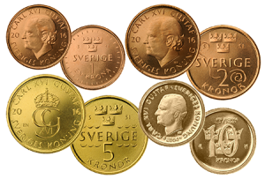 Våra nya svenska mynt