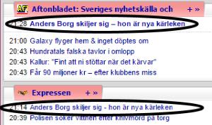 Aftonbladet + Expressen