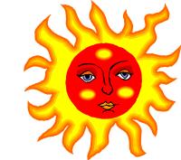 Solen gassar