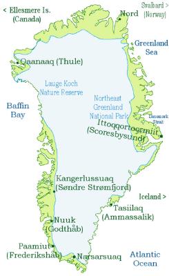 greenlandkarta